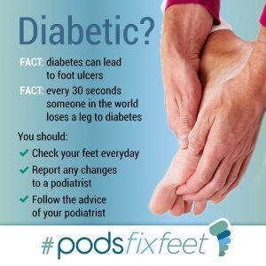 Diabetic? #Podsfixfeet
