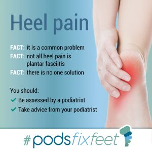 Heel Pain #Podsfixfeet