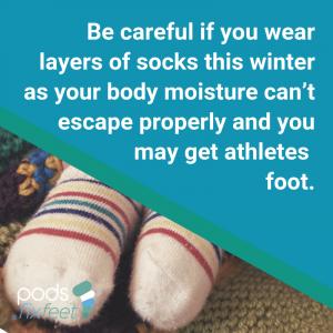 Athletes Foot - Too many socks